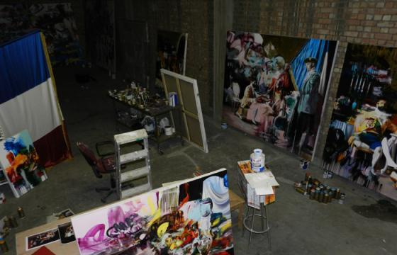 Studio Visit: Conor Harrington in London