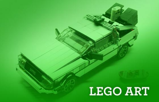 Top 20 Lego Art