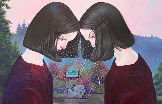 "Martine Johanna ""The Grand Illusion of Sanity"" @ Walls Gallery, Ámsterdam"